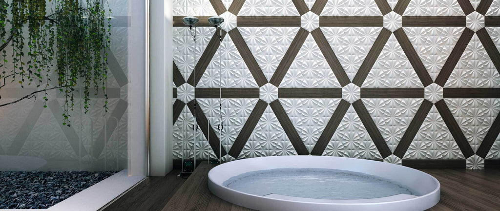 WOW Wall Tiles, Wow Collection, Fiore, Multi Color