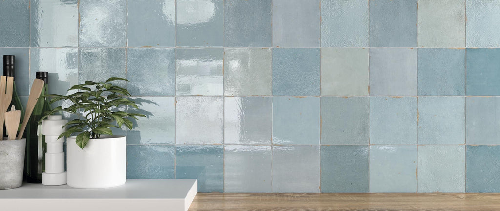WOW Wall Tiles, Mestizaje Collection, Zellige Decor, Multi Color