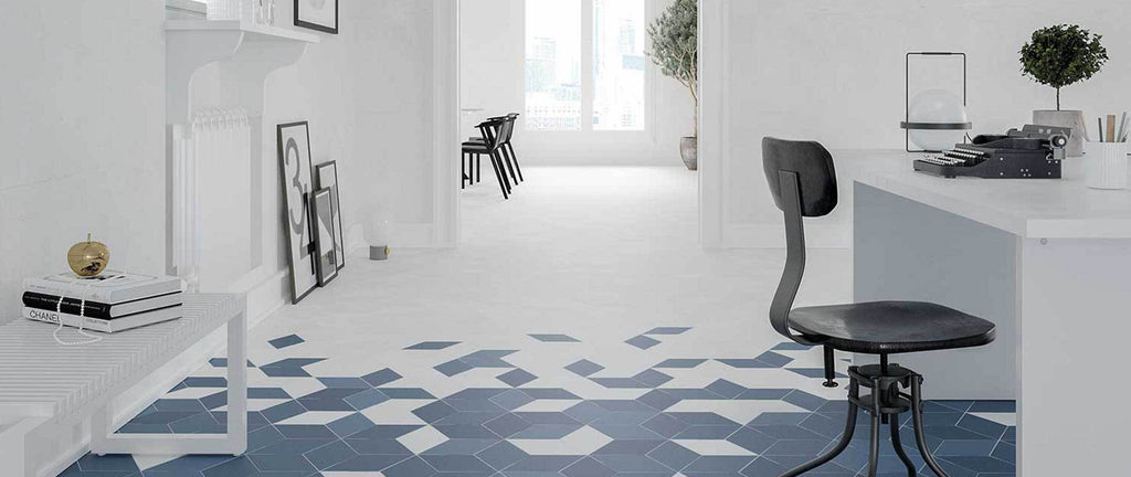 WOW Floor & Wall Tiles, Flow Collection, Flow Diamond, Multi Color