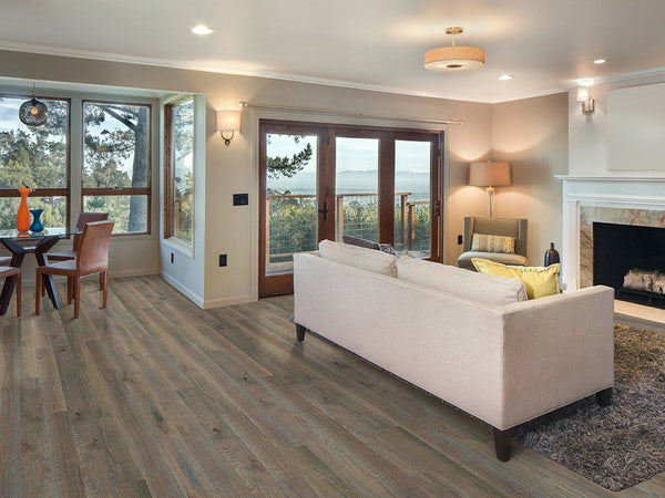 "Monarch Plank, Prefinished Hardwood, Storia II Collection, 2mm Top Layer, UV Oil Finish, Arrezo, 7"" x 2-8"""