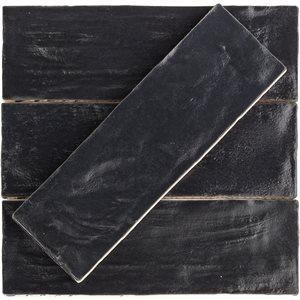 Soho Studio Ceramics Tiles, Myorka, Multi-Color, 2x8 Tiles Soho Studio Black