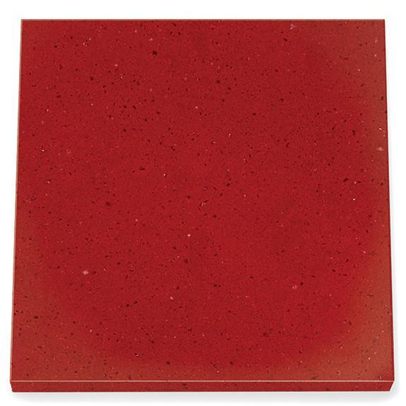 Cambria Counter Top, Cardigan Red