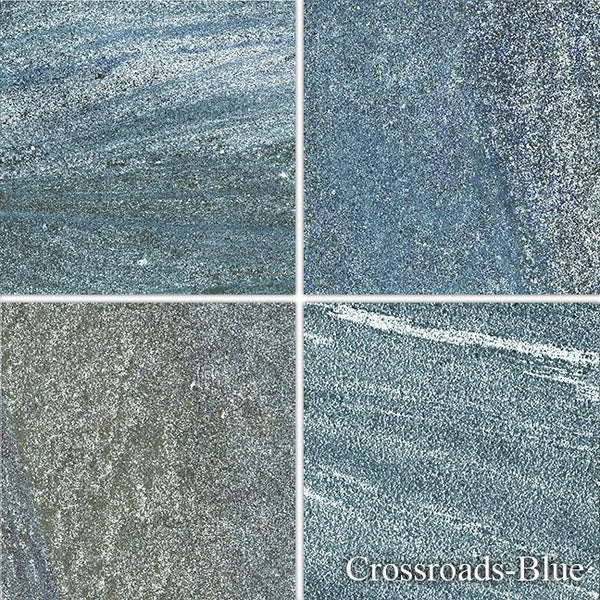 "Fujiwa Pool Tiles, Crossroads 600 Series, Multi-color, 6"" x 6"""