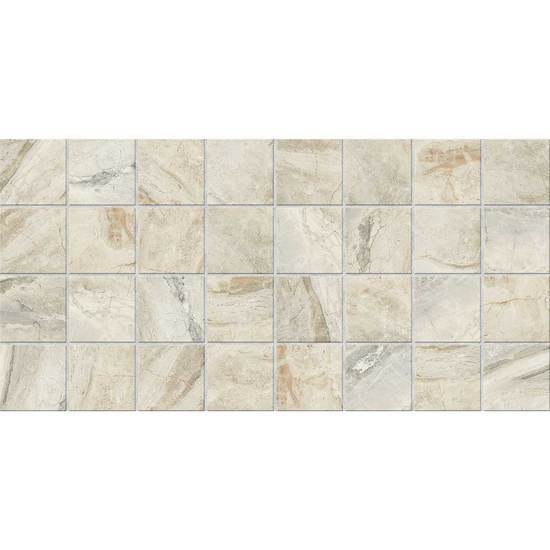 American Olean Glazed Ceramic Mosaic Tile, Danya Collection, Multi-Color, 12x24