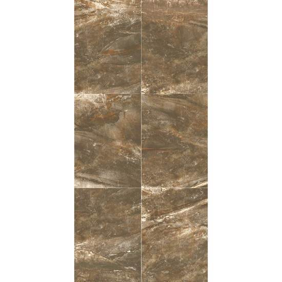American Olean Glazed Ceramic Wall Tile, Danya Collection, Multi-Color, 10x14