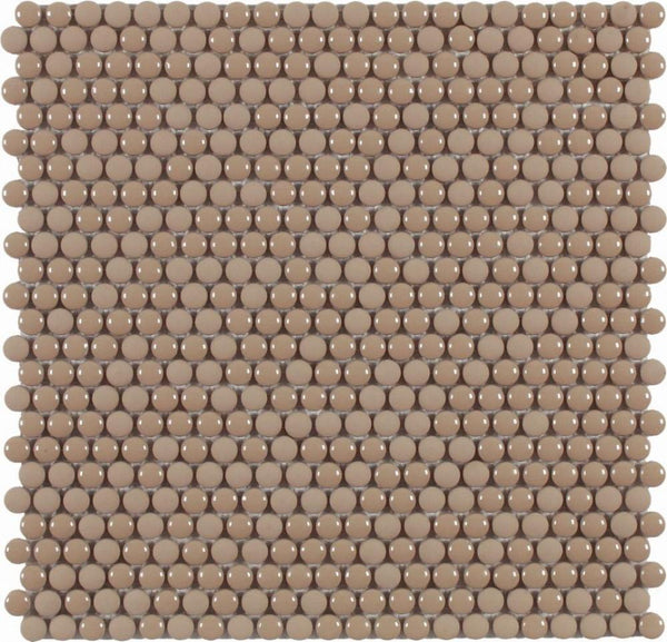 DUNE Mosaics, Glass, Dots Warm, 11.1″ x 11.2″