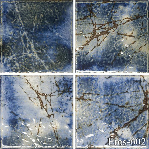 "Fujiwa Pool Tiles, Eros 600 Series, Multi-color, 6"" x 6"""