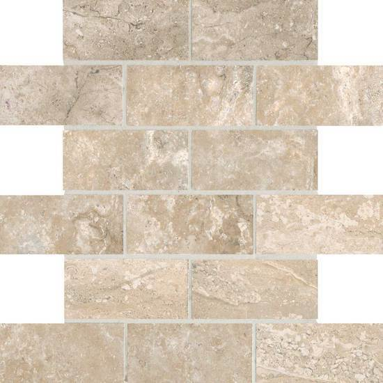 American Olean Glazed Procelain Ceramic Mosaic Tile, Laurel Heights Collection, Multi-Color, 12x12