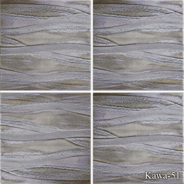 "Fujiwa Pool Tiles, Kawa Series, Multi-color, 6"" x 6"""