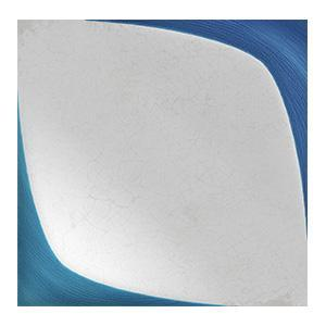 WOW Wall Tiles, Blanc et Bleu Collection, Leaf Wall Decor Tiles Wow Designs Blanc