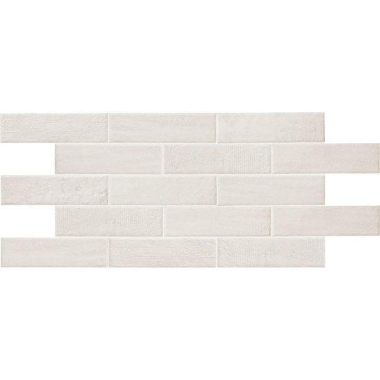 American Olean Paver Floor Tile, Bricktown Collection, Multi-Color, 2x8