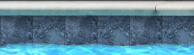 "Fujiwa Pool Tiles, Sekis Series, Multi-color, 6"" x 6"""