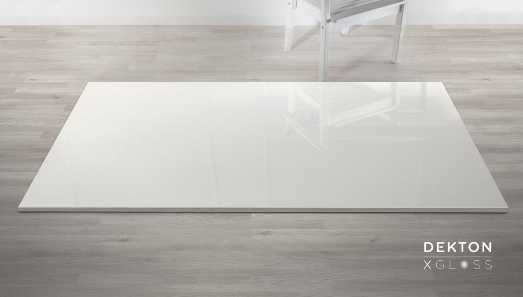 "Cosentino Dekton, Ultra-compact Surfaces, Porcelain Slabs, Solid Xgloss Collection, Halo, Up To 56"" x 126&quot"