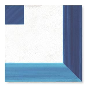 WOW Floor Tiles, Blanc et Bleu Collection, Square Decor Tiles Wow Designs Blanc