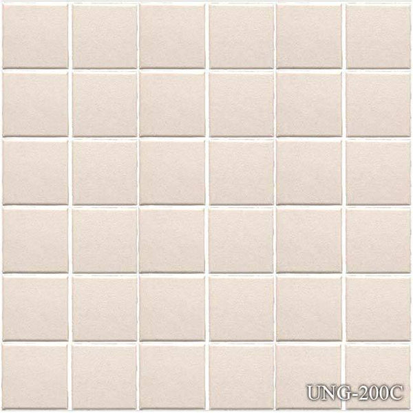 "Fujiwa Pool Tiles, Unglazed 200 Series, Multi-color, 2"" x 2"""