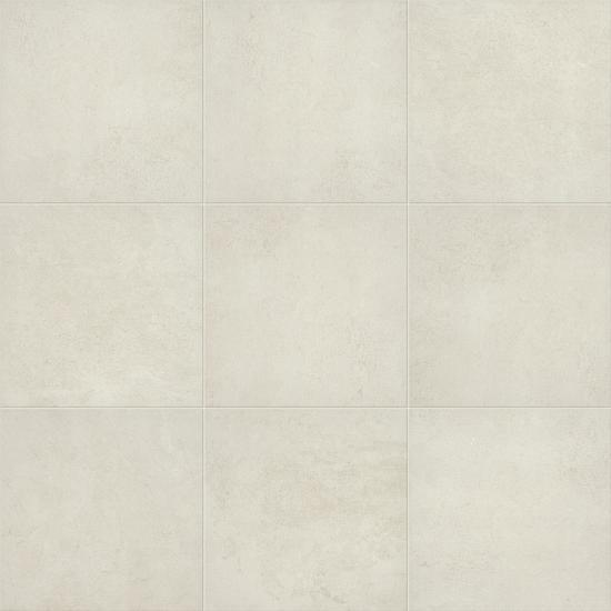 American Olean Glazed Ceramic Floor Tile, Windmere Collection, Multi-Color, 18x18 Tiles American Olean Scottish White