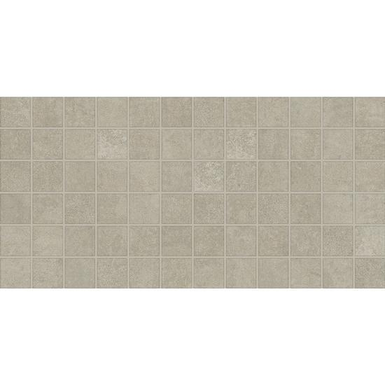 American Olean Ceramic Mosaic Tile, Windmere Collection, Multi-Color, 12x24