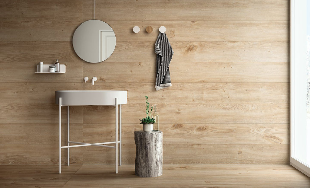 Fondovalle, Komi Collection, Wood Look, Porcelain Stoneware Slabs, Original, Multi-size