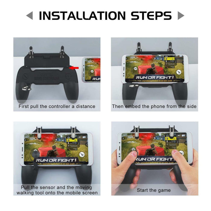 Wireless W11+ Gamepad Controller For PUBG | Android + iPhone