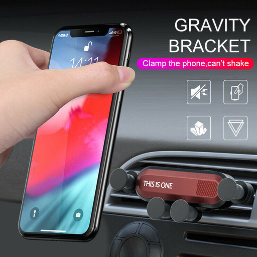Universal 360° Gravity Car Air Vent Mount Holder Stand Mobile Cell Phone GPS New