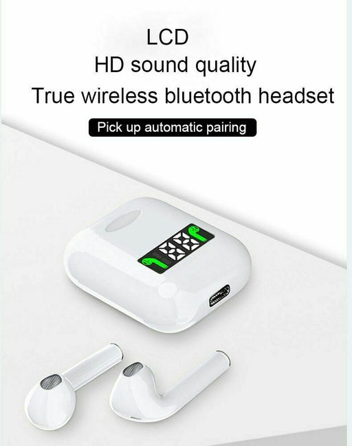 i99 Tws Mini Pop-up Wireless Bass Stereo Bluetooth Earphones Tap Touch Control