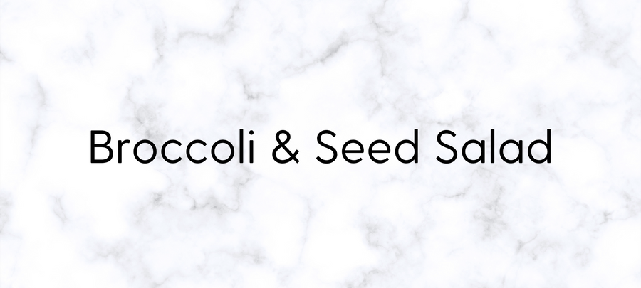 Broccoli & Seed Salad