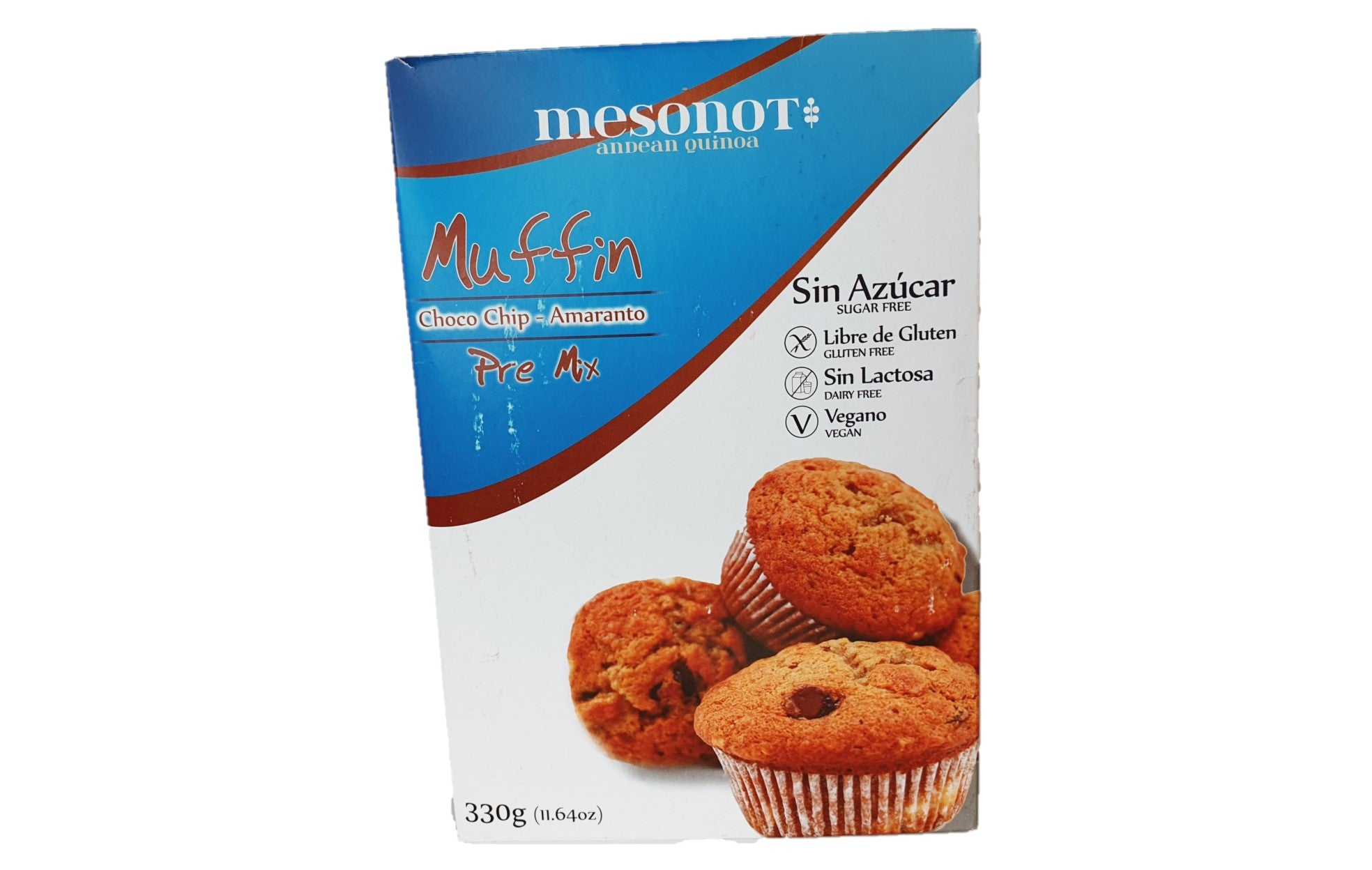 PRE MIX - sugar free ( muffins amaranto con chips chocolate)