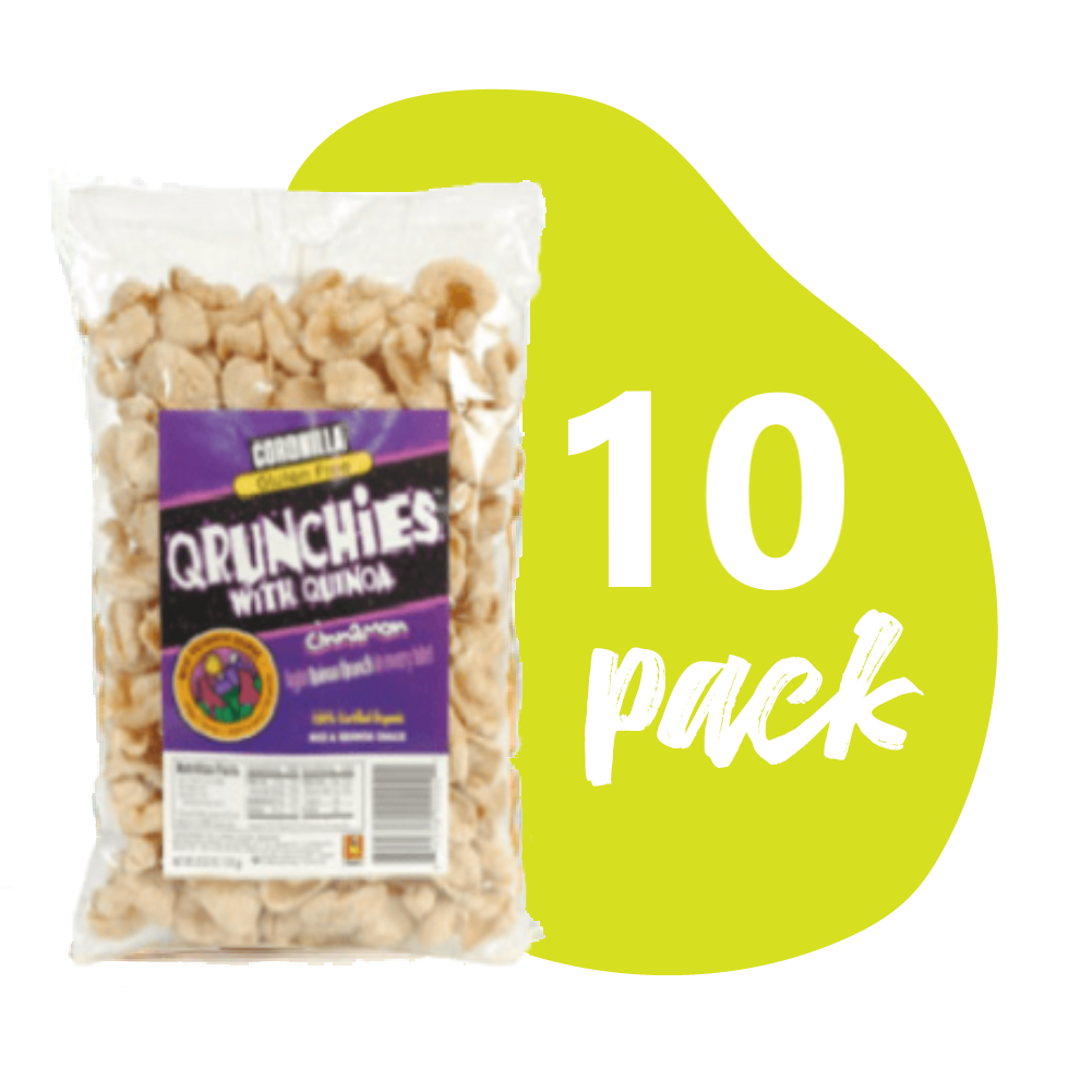 Qrunchies Canela - Pack 10 unidades