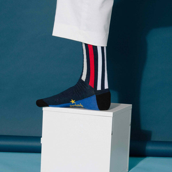 Chaussettes fantaisie & Fun Rayures pour Homme
