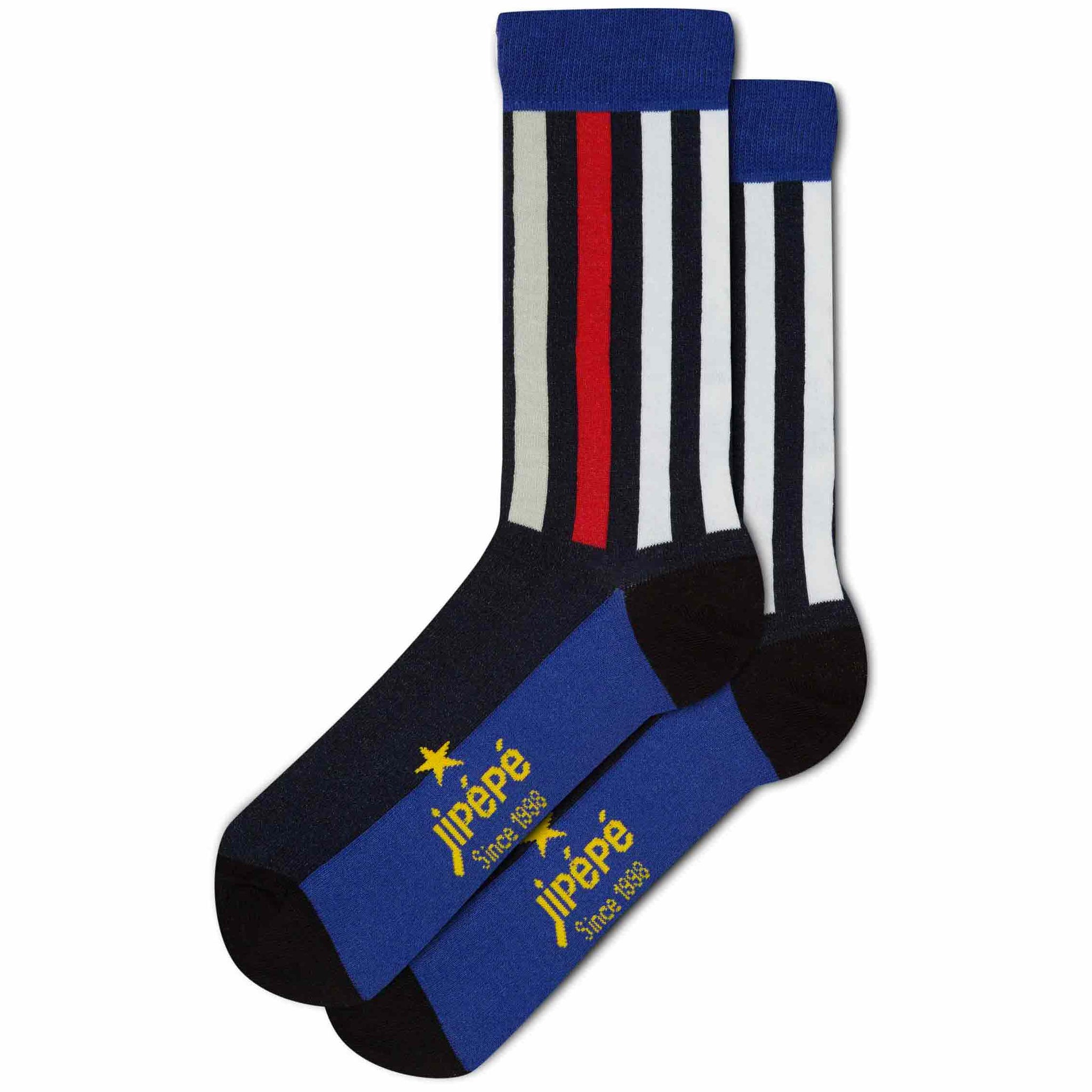 Chaussettes fantaisie Rayures pour Homme
