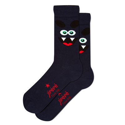 Chaussettes Vampire Navy pour homme