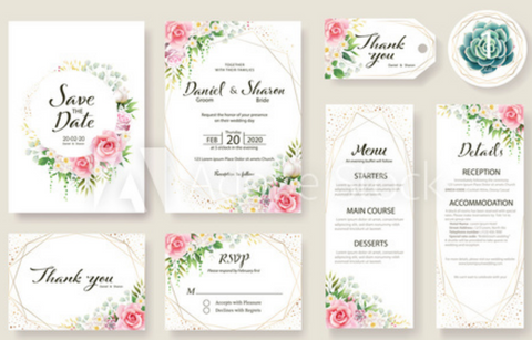 Invitations Stationery Shop At Home Bride