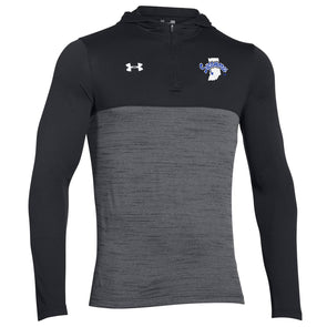 Indiana State Sycamores Under Armour® Tech 1/4 Zip Hoodie - Black