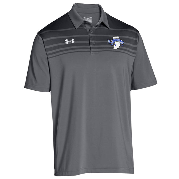 Indiana State Sycamores Under Armour® Victor Polo - Graphite