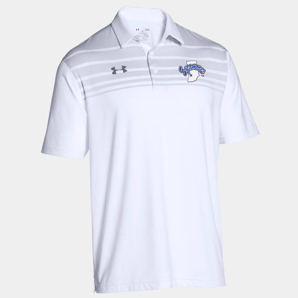Indiana State Sycamores Under Armour® Victor Polo - White