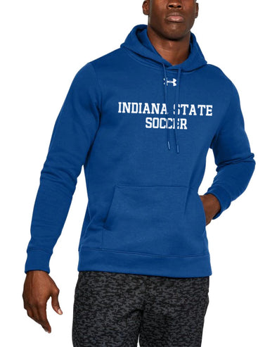 Indiana State Soccer Under Armour Hustle Fleece Hoody
