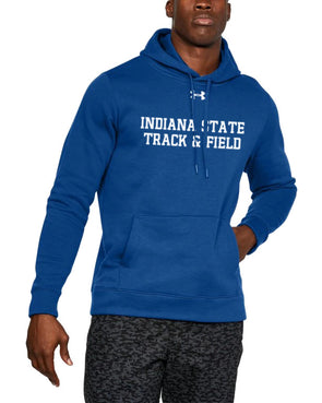Indiana State Track & Field Under Armour Hustle Fleece Hoody