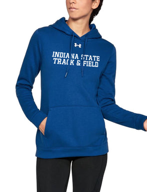 Indiana State Track & Field Women's Under Armour Hustle Fleece Hoody
