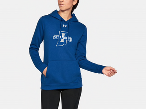 New Sycamores Women's UA Hustle Fleece Hoody