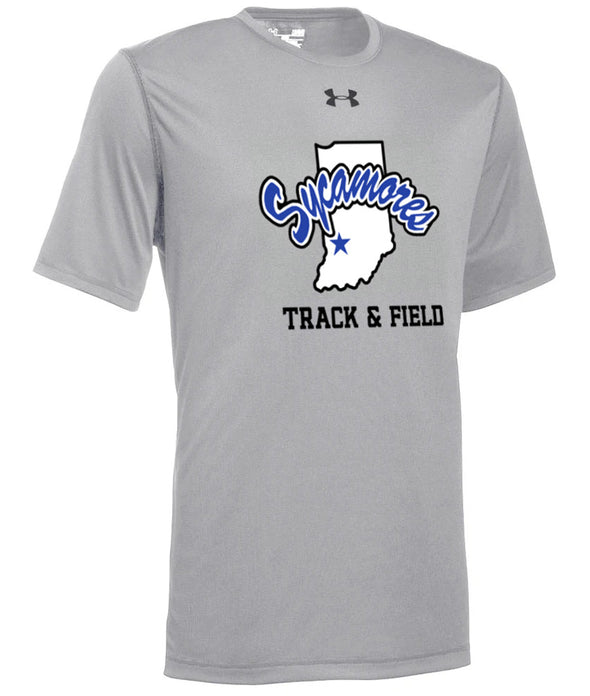 Men's Sycamores Track & Field Under Armour® Locker Tee 2.0