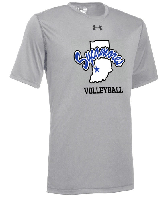 Men's Sycamores Volleyball Under Armour® Locker Tee 2.0
