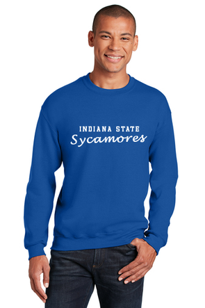 Indiana State Sycamores JERZEES® - NuBlend® Crewneck Sweatshirt