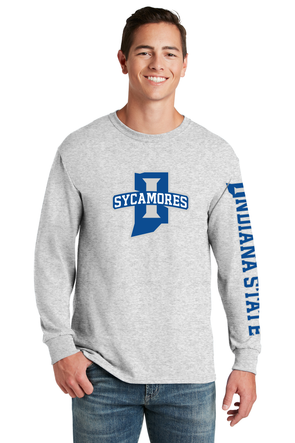 New Sycamores JERZEES® - Dri-Power® 50/50 Cotton/Poly Long Sleeve T-Shirt