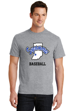 Port & Company® Sycamores Baseball Core Blend Tee