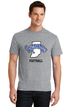 Port & Company® Sycamores Football Core Blend Tee