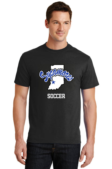 Port & Company® Sycamores Soccer Core Blend Tee