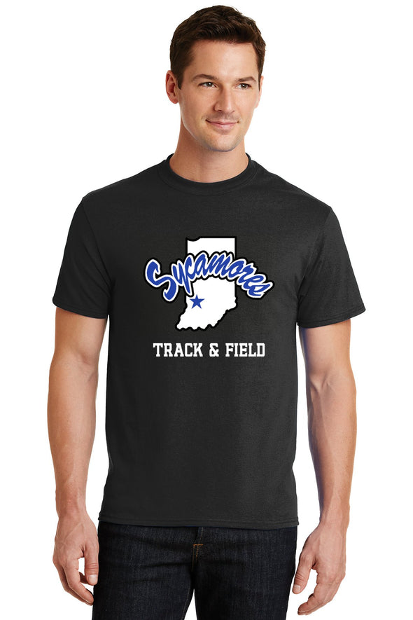 Port & Company® Sycamores Track & Field Core Blend Tee