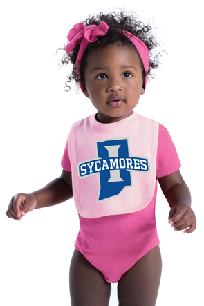 New Sycamores Rabbit Skins™ Infant Premium Jersey Bib