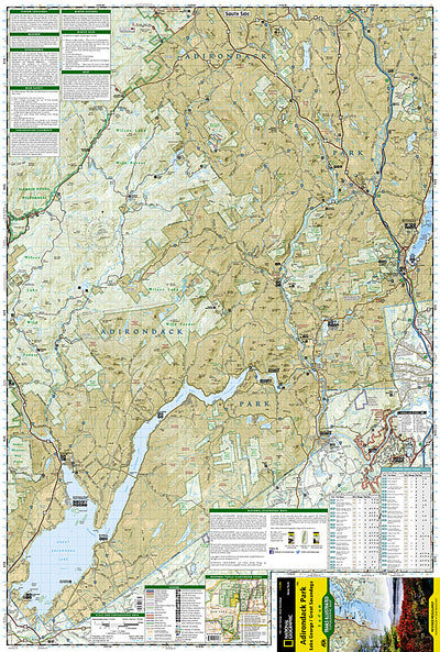 Map-743 Lake George / Great Sacandaga Area