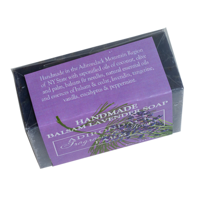 Balsam Lavender Handmade Soap 4oz Bar